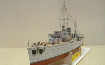 Niemiecki okręt- baza Tsingtau