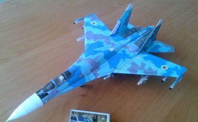 Suchoj Su-27S ,,Flanker-B'' (Повітряні Сили Збройних Сил України)