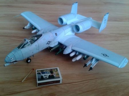 Fairchild A-10A ,,Thunderbolt II''  (75FS 23FG USAF ,,Flying Tigers'')