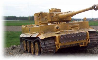 Niemiecki Czolg Ciezki \'Pz.Kpfw. VI Tiger I Ausf. H1