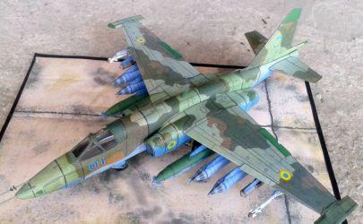 Suhoj Su-25 ,,Frogfoot'' (Повітряні Сили Збройних Сил України)