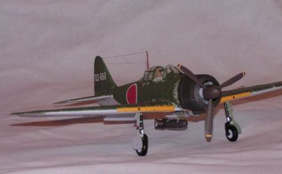A6M2 Zero (Kartonowa Kolekcja)