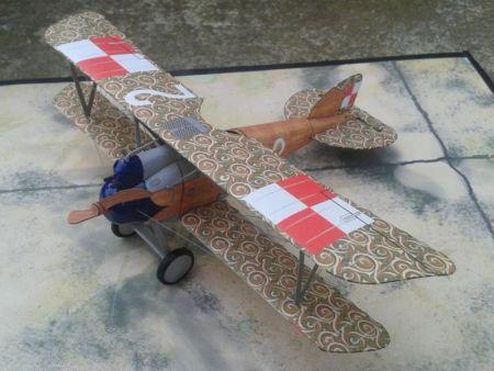 Albatros (Oef.) D.III. (Polskie Siły Powietrzne. 7 Eskadra Myśliwska im. Tadeusza Kościuszki.)