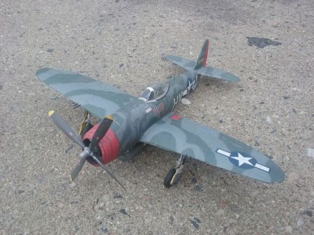 Republic Thunderbolt P-47 D 25