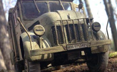 Kfz.17 STEYR 1500 Radio Car