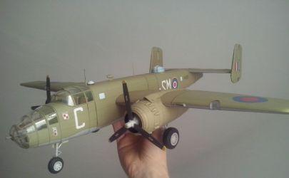 Amerykański bombowiec B-25C Mitchell Mk II