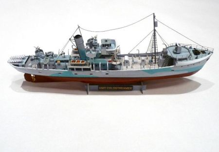 Trawler HMT Coldstreamer