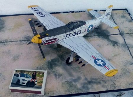 North American F-51D ,,Mustang'' (12 FBS, 18 FBW USAF)