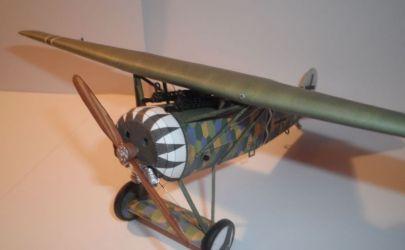 Fokker E.V Kartonowa Kolekcja