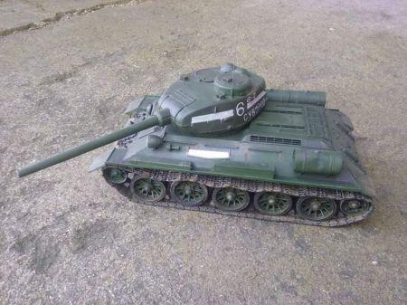 T-34/85    Mały Modelarz 7/8 1996 r .