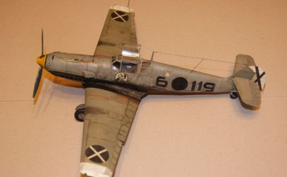 proArte wg RAVENa6 czyli Messerschmitt Bf-109 E-1 Legion Condor 1/33 (DODANE NOWE ZDJĘCIA!)