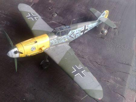 Bf-109 F/2 kartonowy Arsenał