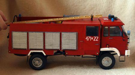 Samochód pożarniczy Star 244