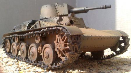 Pzinż. 140 (4TP) Polski prototypowy czołg rozpoznawczy.