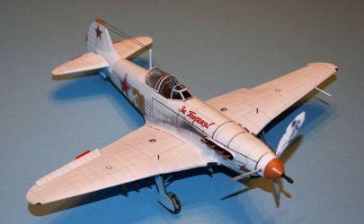 AVIATOR & RAVEN6 przedstawiają: zimowy Jakowlew Jak-9T skala 1:33