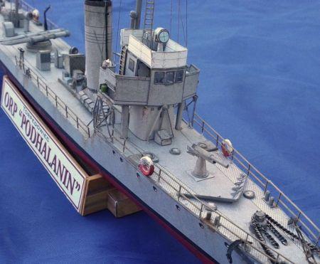Torpedowiec ORP Podhalanin 1:200