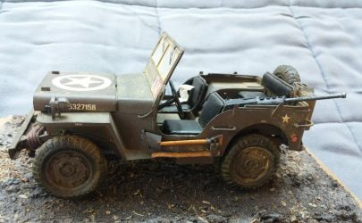 Jeep MB Willys 1/25