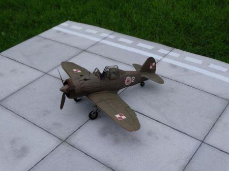 Samolot myśliwski PZL P-50 Jastrząb.