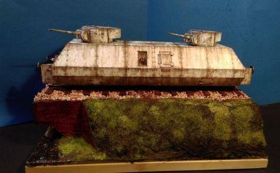 Wagon pancerny ze składu BP-1