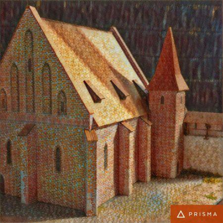 Stara Synagoga na krakowskim Kazimierzu według stanu ok 1500r.