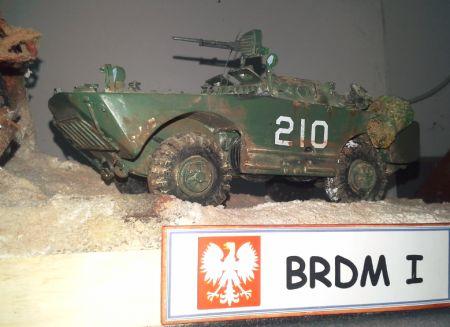 Diorama BRDM I