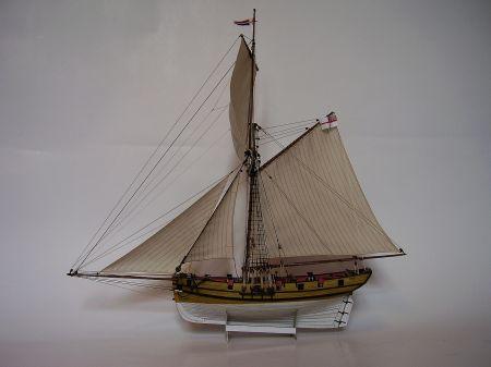 HMS Speedy 1828 [1:100] - model testowy dla Modelarstwa Okrętowego