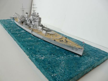 HMS King GeorgeV, JSC 24, skala 1:400.