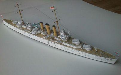 HMS Norfolk, JSC 26, skala 1:400.