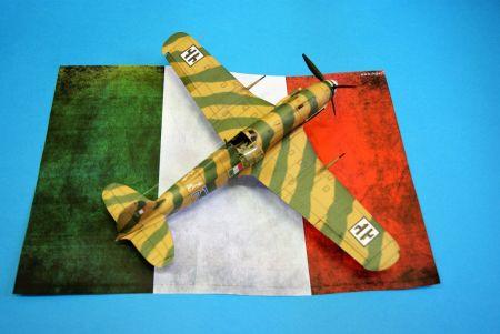 Fiat G.55 Centauro z proArte w wykonaniu RAVENa6 (1:33)