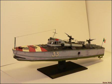 Włoski kuter torpedowy MAS MM 4/1991