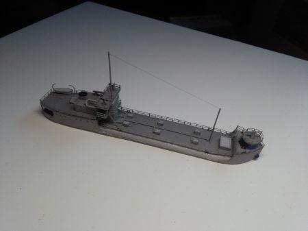 Zbiornikowiec Y-75, JSC 11, skala 1:400.