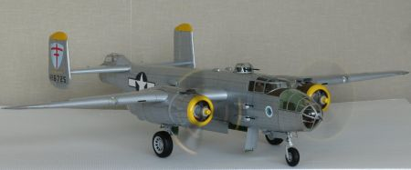 Średni bombowiec B25j   Mitchell ,  IIWŚ