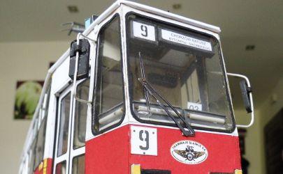 Tramwaj 105N   -   modelik 1:25