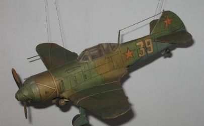 Ła-7 radziecki samolot myśliwski