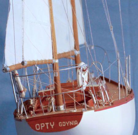 S/Y Opty model jachtu pełnomorskiego na bazie MM  12/71
