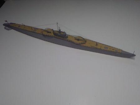 USS Narwhal, JSC 65, skala 1:400.