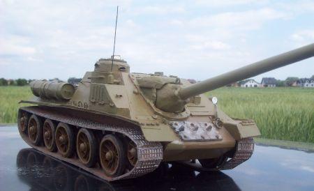Radziecki Niszczyciel  Czołgów SU 100