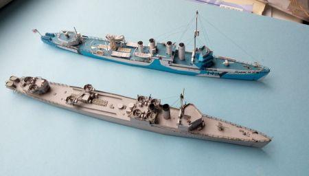 HMS Campbeltown 1941/1942, JSC 62, skala 1:400.