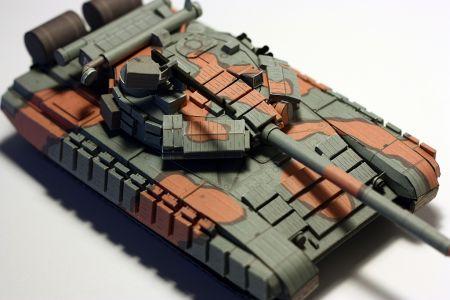 T-64 kartonowy żart