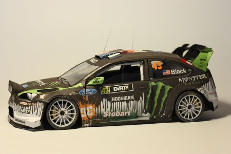 Ford Focus WRC 2008 Ken Block