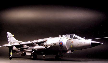 Sea Harrier Mk.1 - do trzech razy sztuka...