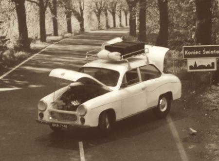 Królowa Polskich Szos - Syrena 105L z Modelika - po mojemu