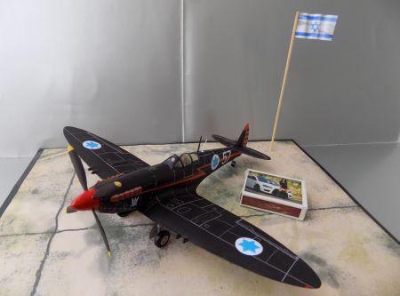 Supermarine ,,Spitfire'' Mk. IXe (זרוע האויר והחלל)