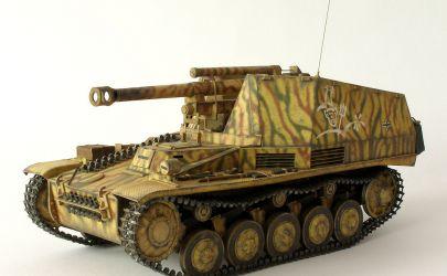 Pancerna Osa - Sd.Kfz.124