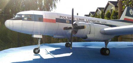 Ił-14 , skala 1 :33, model darmowy