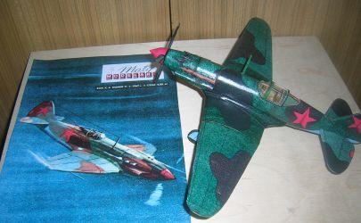 MiG - 3 Aleksjieja Pokryszkina (myśliwiec wysokościowy, obrona Moskwy)