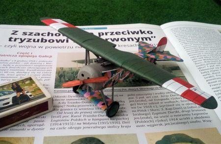 Fokker E.V (Polskie Lotnictwo Wojskowe, 7 Eskadra Bojowa - 1918)