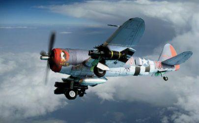 P-47 Thunderbolt  Bolesława Gladycha