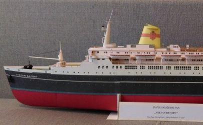 TS/S Stefan Batory, skala 1:200, Mały Modelarz 1970