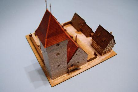 RAVEN6 i Muzeum Historyczne Miasta Krakowa czyli Ratusz krakowski w I połowie XIV wieku (skala 1:200)